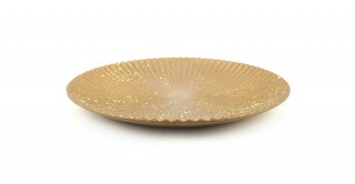 Cipher Decorative Tray Gold 40 cm