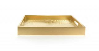 Clayton Decorative Tray Gold 40 cm