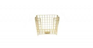 Cocoon Basket Gold 30 cm