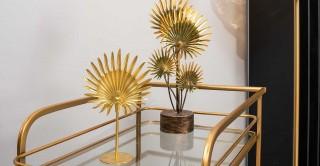 Cosmos Decorativerative Accessories Gold 23 cm