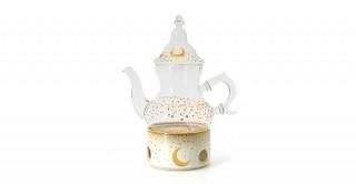 Moon Tea Set Cream 3Pcs