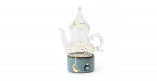 Moon Tea Set Blue 3Pcs