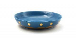 Rosal Serving Plate Shinny Blue