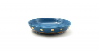 Rosal Serving Plate Shinny Blue