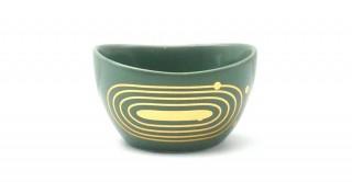 Rosen  Dipping Bowl Shinny Green