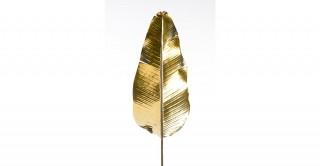 Banana Leaf Spray Metallic Gold 105 cm