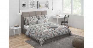 Casper Comforter Set 5Pc, Beige Queen Size