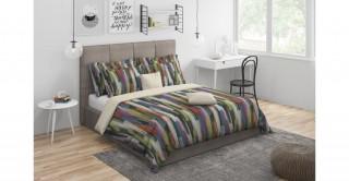 Brush Stroke Comforter Set 5Pcs, King Size
