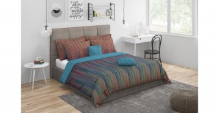 Ombre 5Pc Comforter Set,Multi Queen Size