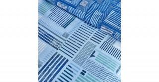 Plaid Cotton Duvet Cover Set 220 cm - (3Pc)