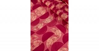 Eclipse 2Pc Cotton Duvet Cover Set Burgdy 135 cm