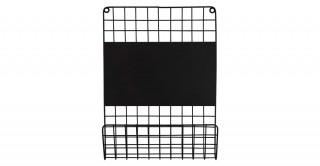 Villena Wall Shelf Black