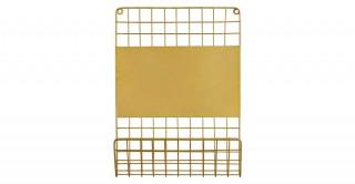 Villena Wall Shelf Gold
