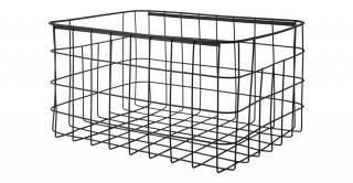 Villena Wire Basket Black