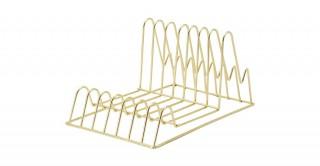 Villena Plate Rack Gold