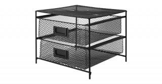 Villena Metal Shelf Black