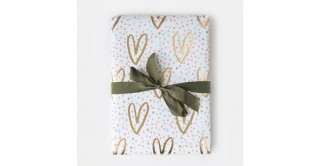 Gold Hearts Wrap