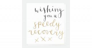 Wishing You Speedy Recovery Card