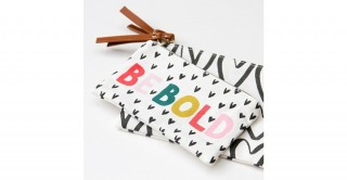 Be Bold Canvas Pouch Duo