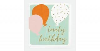 Lovely Birthday Balloons Card