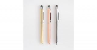 Metallic Set Of 3 Pens