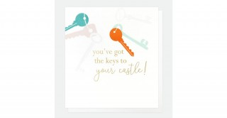 You'Ve Got The Keys To Your Castle Card