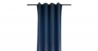 Bream Chinille Curtain Blue