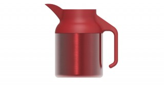 Nova Coffeepot Metallic Burgundy 1500ml