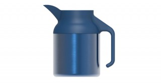 Nova Coffeepot Metallic Dark Blue 1500ml