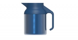 Nova Teapot Metallic Dark Blue 1500ml