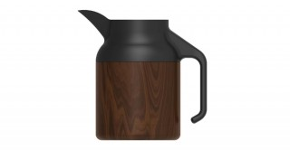 Nova Coffeepot Dark Wood 1500ml