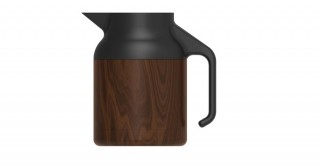 Nova Teapot Dark Wood 1500ml