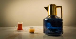Hebe Tea Pot Blue