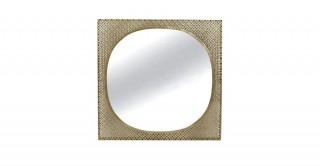 Weave Mirror Gold