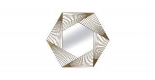 Waldorf Mirror Gold