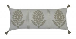 Palsey Applique Cushion White 30 cm