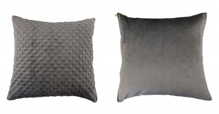 Weave Quilted Cushion 45 cm