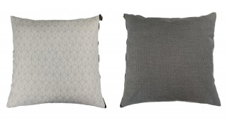 Shine Printed Cushion White 45 cm