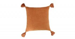 Tina Tassel Cushion Rust 45 cm