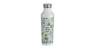 Typhoon Pure Green Is The New Black Double Wall Bottle