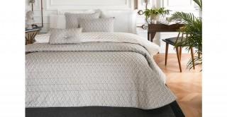 Ornella 4Pc Bridal Comforter Grey 260 x 270