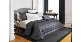 Spring 4Pc Bridal Comforter Dk Blue 260 x 270