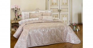 Valencia 5Pc Bridal Comforter Gold 260 x 270