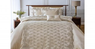 Marbella 4Pc Bridal Comforter Gold 260 x 270