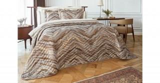 Sandra 3Pc Bridal Comforter Blue 260 x 270