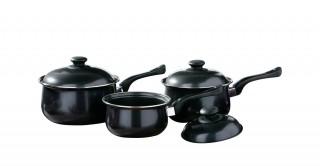 Black Belly Pan Set 3Pc