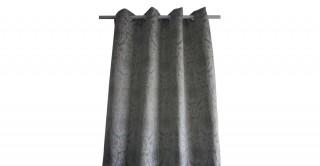 Metallic Jacquard Curtain Blue 135 x 300