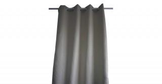 Metallic Jacquard Curtain Cream 135 x 300