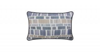 Eliana Printed Cushion Grey 45 cm