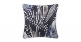Fleur Printed Cushion Blue 45 cm